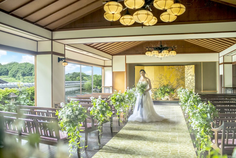 挙式のみ結婚式(菊水楼Ver)